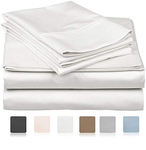 800 Thread Count 100% Long Staple Soft Egyptian Cotton SheetSet, 4 Piece Set, QUEEN SHEETS,upto 17