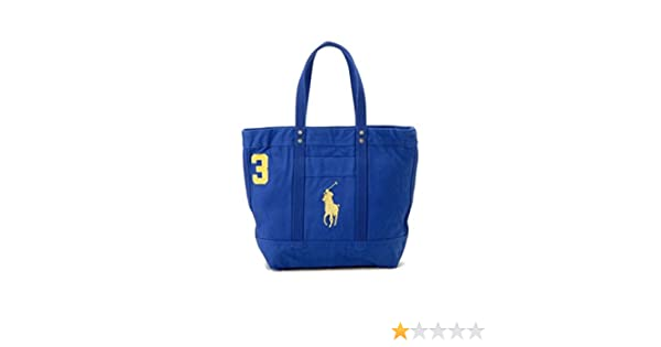 Amazon.com  Polo RALPH LAUREN Unisex Big Pony Zip Tote  Shoes ae2367381fe0d