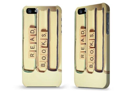 """Hülle / Case / Cover für iPhone 5 und 5s - """"Read books"""" von Joy St.Claire"""