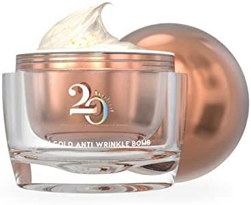Good Famous Minus 20 Pink Gold Anti Wrinkle Bomb Gold Collagen Cream Whitening & Younger Skin Power Aging Corrector Timeless Beauty 30 ML by MDA