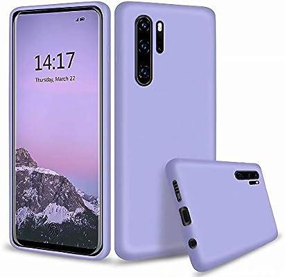 MUTOUREN Compatible con Huawei P30 Pro Funda Silicona Líquido ...