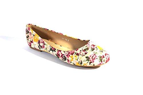 Negras Antideslizante Para De Rosa Suela Mujer zapatillas Sfiziosa Bailarinas Color qHfxH0E
