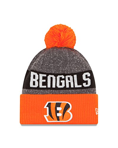 NFL Cincinnati Bengals 2016 Reverse Team Color Sport Knit Beanie, One Size, Orange/Gray (Nfl Caps compare prices)