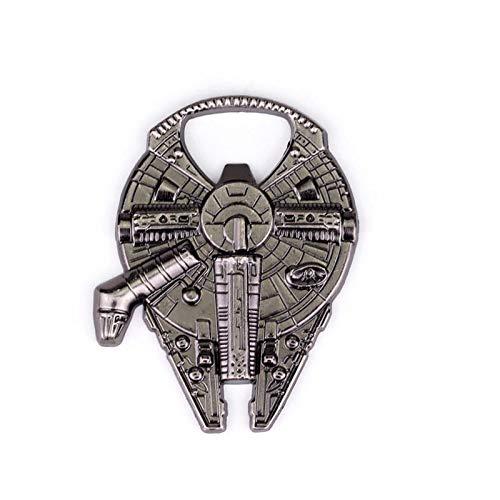 Star Wars Millenium Falcon Metal Bottle Opener Zinc Alloy Wine Bottle Opener Darth Vader Outdoor Tool