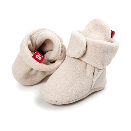 Pictures of Newborn Cozie Fleece Bootie Unisex Infant Toddler A0862 3