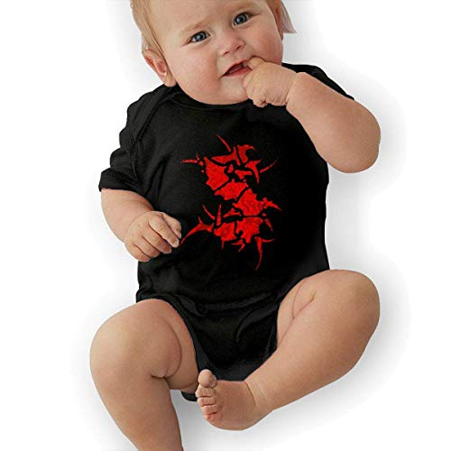 sretinez Baby's Sepultura Climbing Bodysuit Black -