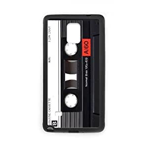 Cassette Tape Cheap Custom Cell Phone Case Cover for Samsung Galaxy Note 4, Cassette Tape Galaxy Note 4 Case
