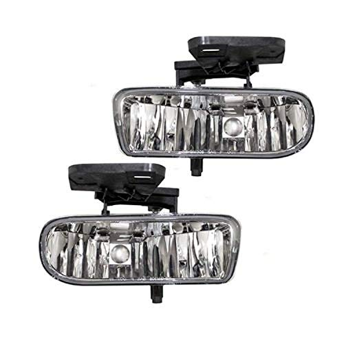 Remarkable Power FL7084 Fit For 1999-2002 GMC Sierra / 2000-06 GMC Yukon Clear Fog Lights Only