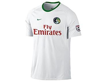 Camiseta New York Cosmos 1ª -Raul- 2014-15: Amazon.es: Deportes y aire libre