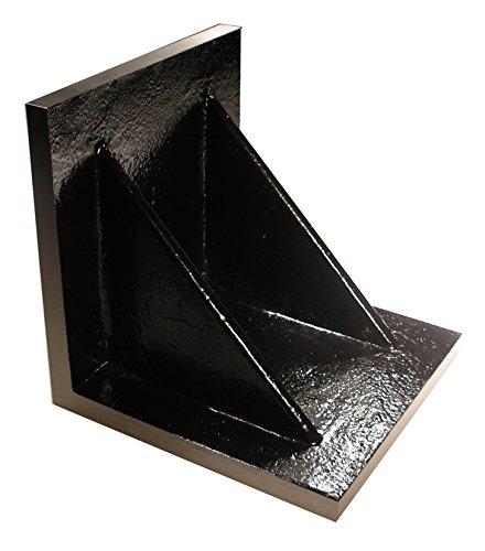 Value Line 8 x 8 x 8 Plain Angle Plate - Webbed - Ground (Angle Plates Suburban)