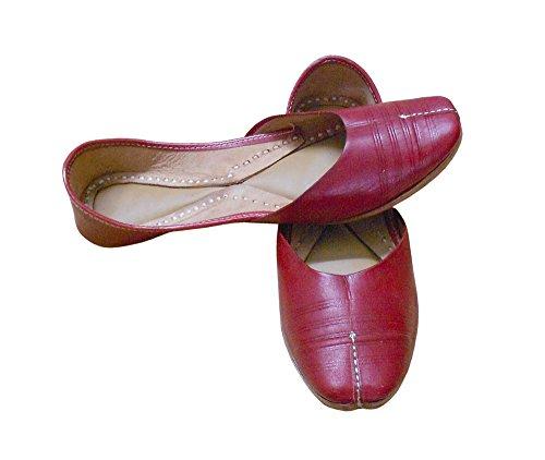 En Kalra Traditionnel Creations Indien Ethnique Peau Pour Chaussures Cuir De Femme qaPrZYq