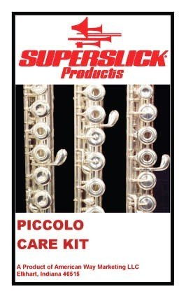 KIT MANTENIMIENTO FLAUTA TRAVESERA LPICCOLO - Superslick PCK Para Fluata travesera Piccolo
