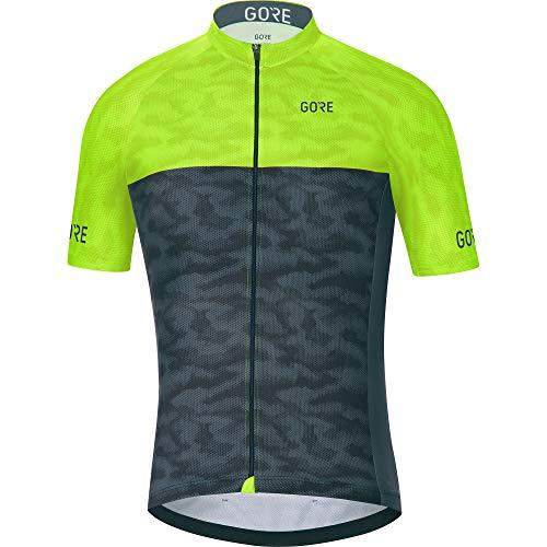 Amazon.com   GORE WEAR C3 Men s Cycling Short Sleeve Jersey   Clothing d11de04d6