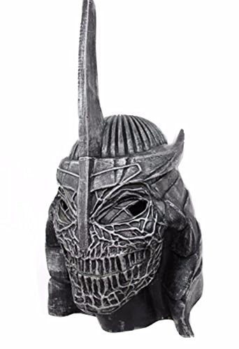 Oem Men's Tmnt Shredder Mask Teenage Mutant Ninja Turtles One Size Silver