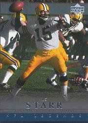 2000 Upper Deck Legends Football Card #23 Bart Starr Near Mint/Mint