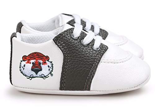 Future Tailgater Auburn Tigers Aubie Pre-Walker Baby Shoes - Black Trim ()