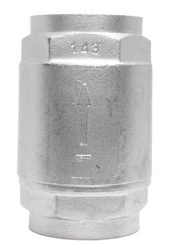 (Stainless Steel 316 in-Line Spring Check Valve - 150 lb Class)