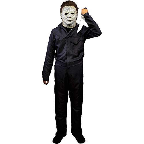 Trick or Treat Studios Halloween 2018 Michael Myers Costume for Children, One Size, Features a One-Piece Black Jumpsuit
