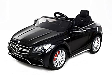 mercedes benz s63 amg elektrisches auto f r kinder tolles. Black Bedroom Furniture Sets. Home Design Ideas