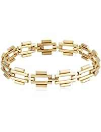 Fossil Womens Southwest Diamond Link Bracelet