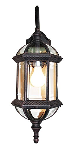 Trans Globe Lighting 4180 RT Outdoor Wentworth 22.25'' Wall Lantern, Rust by Trans Globe Lighting