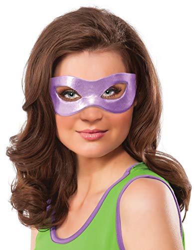 Nickelodeon Rubie's Women's Teenage Mutant Ninja Turtles Classic Donatello Eye Mask, Purple, One Size ()