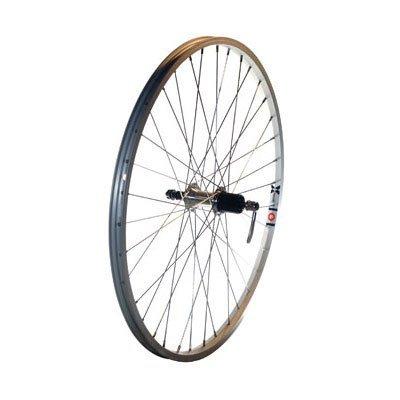 Bike Cassette Rear (Alex Toys X101 36H 7/8/9-Speed QR Shimano Acera Cassette for Rear Wheel, 26x1.75-Inch, Silver/Silver)