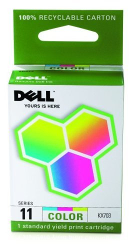 Dell Computer KX703 11 Standard Capacity Color Ink Cartridge for 948/V505 (Dell V505w)