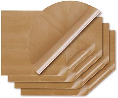 GOURMEO papel de horno permanente, 4x 32 x 46 cm; 1x 40 cm ...