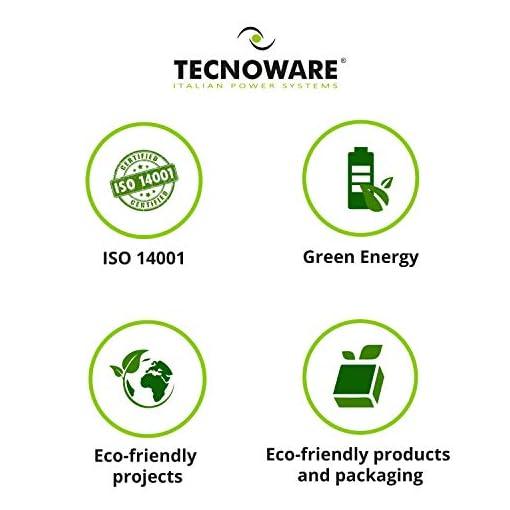 Tecnoware UPS EXA Plus 1500 Sistemas de alimentación ininterrumpida para Game PC y Consola - Alta Silenciosidad - 8… 7