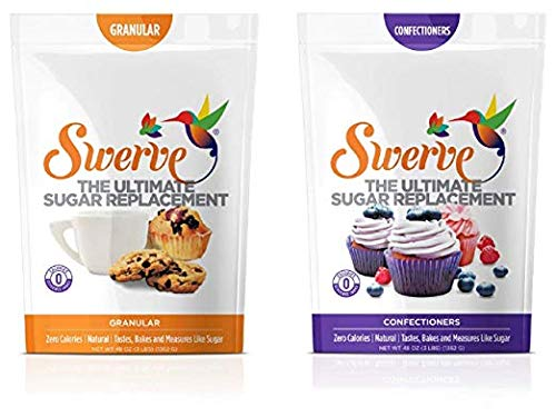 Sweetener, Bakers Bundle, 12Oz Granular and Confectioners pack of 2