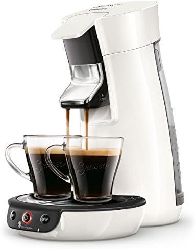 Senseo HD6563/00 Viva Cafe - Cafetera monodosis, 1450 W, 0.9 litros, Blanco: Amazon.es: Hogar