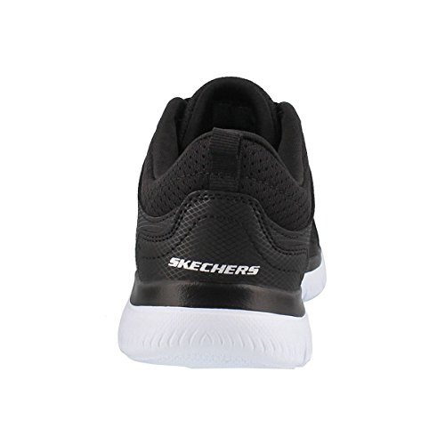 Wide 5 WHT US Skechers Sneaker Suited Summits up Lace W Blk Women's nqCwSYqT