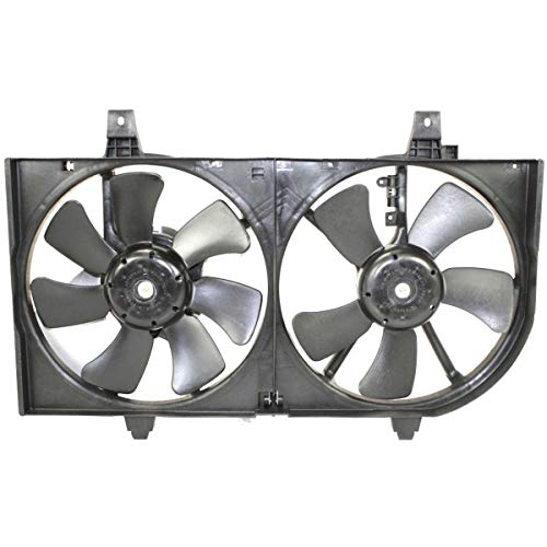 New Radiator Fan Shroud Assembly For 2002-2006 Nissan Sentra With A/C, 1.8L Eng. 214814Z320 NI3115123 ()
