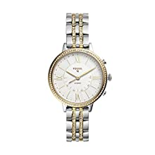 Fossil Q Women's Hybrid Smartwatch Watch with Stainless-Steel-Plated Strap, Multi, 14 (Model: FTW5035)