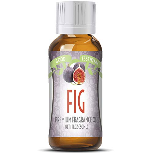 Fig Scented Oil by Good Essential (Huge 1oz Bottle - Premium Grade Fragrance Oil) - Perfect for Aromatherapy, Soaps, Candles, Slime, Lotions, and More!