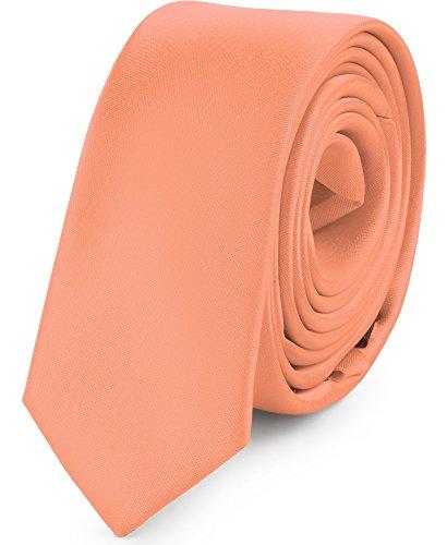 5cm Ladeheid SP 5 Mans Tie 150cm x Salmon Narrow ZZ0qp