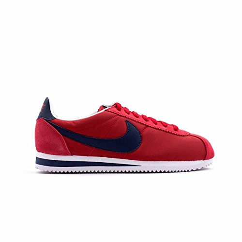 Sneakers Nylon Cortez Rosso EU Suede 44 Classic Nike Uomo 5 Canvas PUqwZZYt