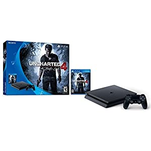 41swX m9CPL. SS300  - PlayStation-4-Slim-500GB-Console-Uncharted-4-Bundle-Discontinued