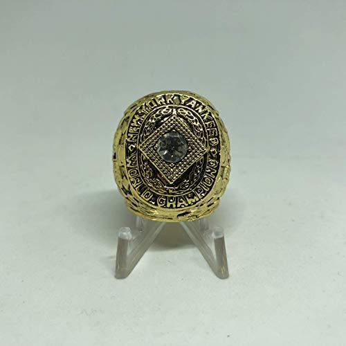 (1932 New York Yankees World Series High Quality Replica Ring Size 10.5-Gold Colored)