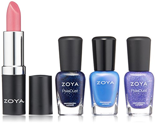 ZOYA Nail Polish, Icy Kiss Lips & Tips Quad, 1 fl. oz.