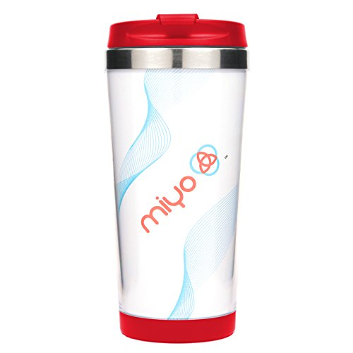 wn) Insulated Stainless Steel DIY Tumbler, 16oz, Red (Own Custom Design)