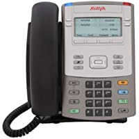 Avaya/Nortel 1120E IP Telephone (Newer Avaya Model) WITH power supply - Gray & Silver (NTYS03AFE6)