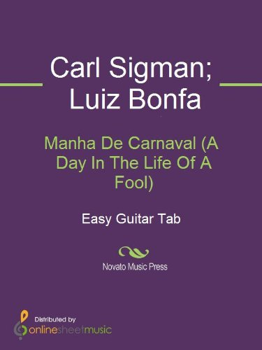 Manha De Carnaval (A Day In The Life Of A Fool)