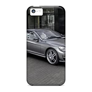 New GqC15798hYom Cl63 Amg Skin Cases Covers Shatterproof Cases For Iphone 5c