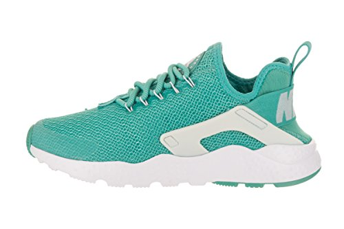 Nike Womens Air Huarache Run Ultra Running Shoe Lavato Teal / Bianco / Platino Puro