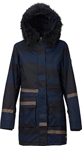 Burton Women's Olympus Jacket, Pike Stripe, Medium