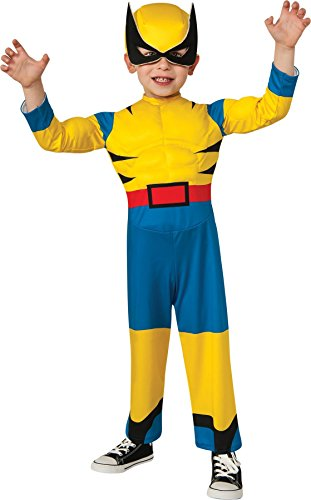 (GTH Boy's Wolverine Toddler Kids Child Fancy Dress Party Halloween Costume, Toddler)