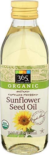 365 Everyday Value, Organic Sunflower Seed Oil, 16.9 fl oz