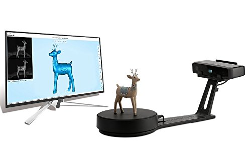 EinScan SE Desktop 3D Scanner with Align Mode by Default, White Light, Free/ Auto Dual Scan Model, dual camera by Einscan